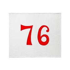 SPIRIT OF 76 NUMBERS™ Throw Blanket