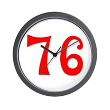 SPIRIT OF 76 NUMBERS™ Wall Clock