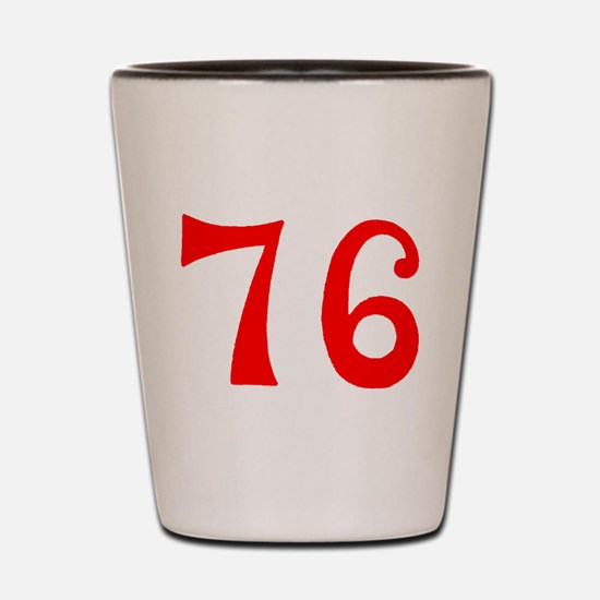 SPIRIT OF 76 NUMBERS™ Shot Glass