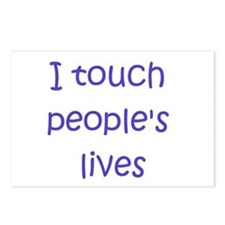 Touch Lives Postcards (Package of 8)
