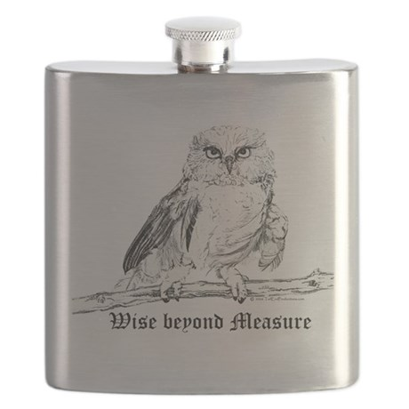 Wise owl 2006.png Flask