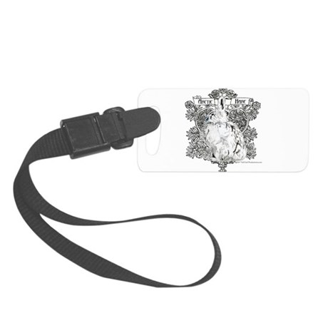 Arctic Hare Small Luggage Tag