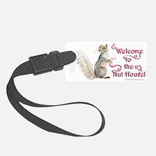Squirrel Nut House Luggage Tag