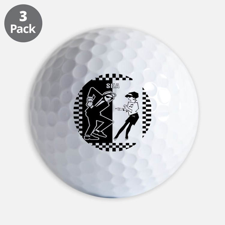Cute Rock Golf Ball