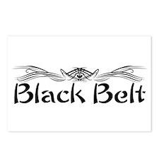 Martial Arts Black Belt Postcards (Package of 8)