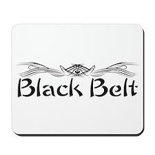 Martial Arts Black Belt Mousepad