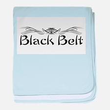 Martial Arts Black Belt baby blanket
