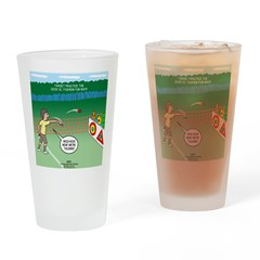 Jr. Knots Scout Rock Throwing Drinking Glass