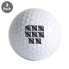 40th birthday Golf Ball