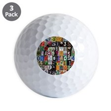 Pi Places Golf Ball