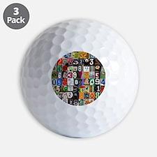 Pi Places Golf Ball