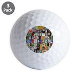 Pi Golf Balls