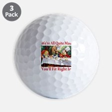 You'll Fit Right In - RED Golf Ball