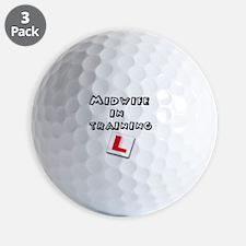 Cute Midwifery Golf Ball