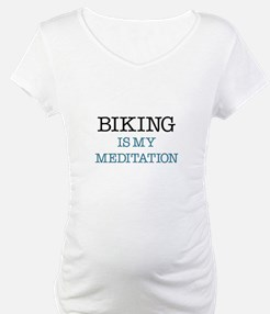 Biking is my Meditation Shirt