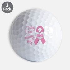 Missing My Mom 1 BC Golf Ball