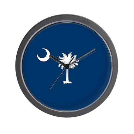 SC Palmetto Moon Wall Clock
