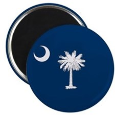 SC Palmetto Moon Magnet