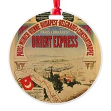 Orient Express Ornament