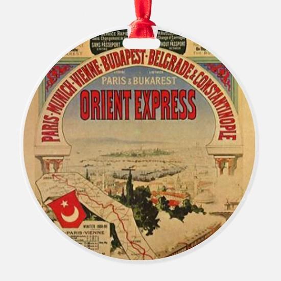 Orient Express Ornament