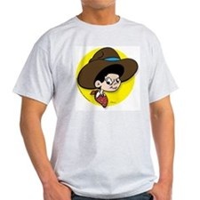 Cowboy Dave 2 Ash Grey T-Shirt
