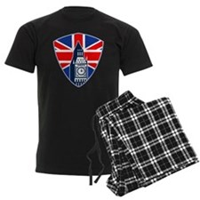 Big Ben British Flag Shield Pajamas