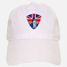 Big Ben British Flag Shield Baseball Baseball Cap