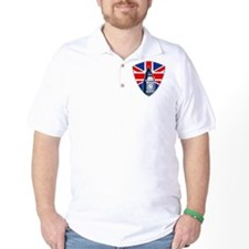 Big Ben British Flag Shield T-Shirt