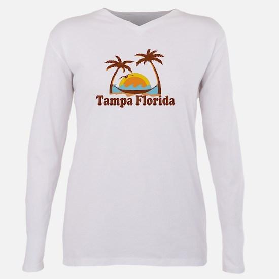 Tampa Florida - Palm Trees Design. T-Shirt