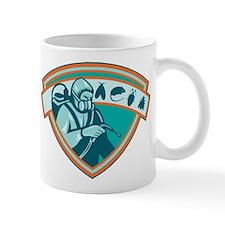 Pest Control Exterminator Worker Shield Mug
