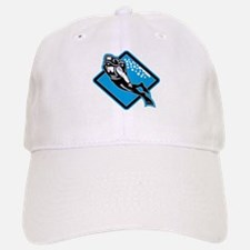 Scuba Diver Diving Retro Baseball Baseball Cap