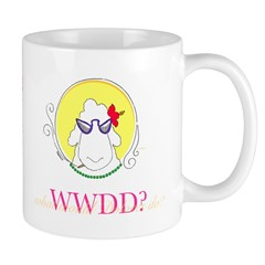 What Would Dolores Do? Knitter's Mug