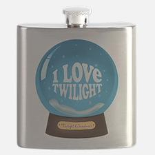 I Love Twilight Snowglobe Ornament.png Flask