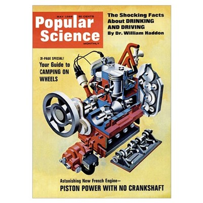 Popular Science Cover, May 1969 Poster