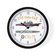 USS Vella Gulf CG-72 Wall Clock
