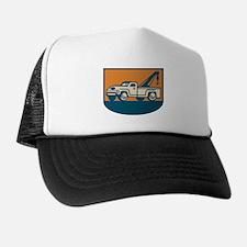 Vintage Tow Wrecker Pick-up Truck Trucker Hat