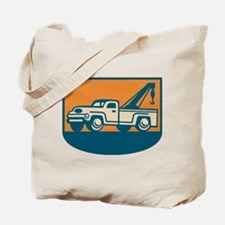 Vintage Tow Wrecker Pick-up Truck Tote Bag