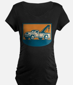 Vintage Tow Wrecker Pick-up Truck T-Shirt