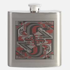 Vintage Deco Tech Flask