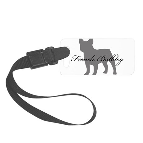 greysilhouette2.png Small Luggage Tag