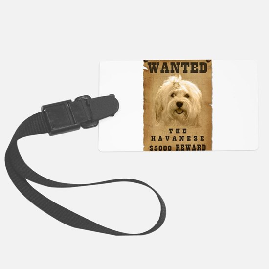 22-Wanted _V2.png Luggage Tag
