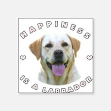 """2-happiness.png Square Sticker 3"""" x 3"""""""