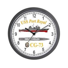 USS Port Royal CG-73 Wall Clock