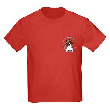 Springer Spaniel IAAM Pocket Kids Dark T-Shirt
