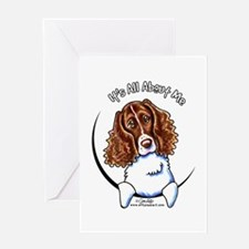Springer Spaniel IAAM Greeting Card