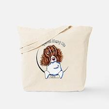 Springer Spaniel IAAM Tote Bag