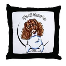 Springer Spaniel IAAM Throw Pillow