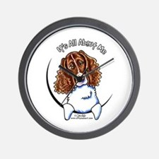 Springer Spaniel IAAM Wall Clock