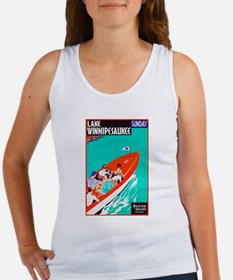 New Hampshire Travel Poster 2 Women's Tank Top