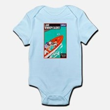 New Hampshire Travel Poster 2 Infant Bodysuit